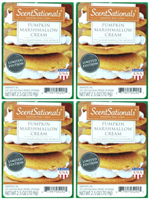 Pumpkin Marshmallow Cream 4-pack