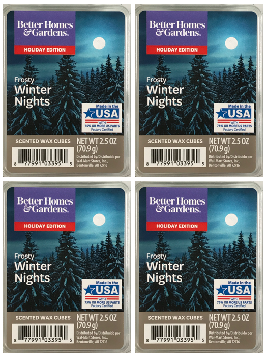 Frosty Winter Nights 4-pack