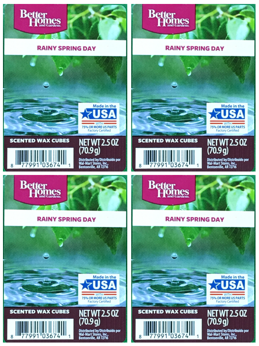 Rainy Spring Day 4-pack