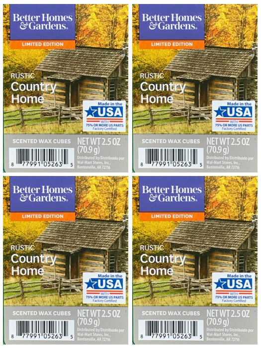Rustic Country Home 4-pack